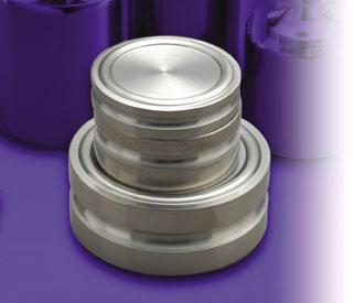 ステンレス製円盤分銅