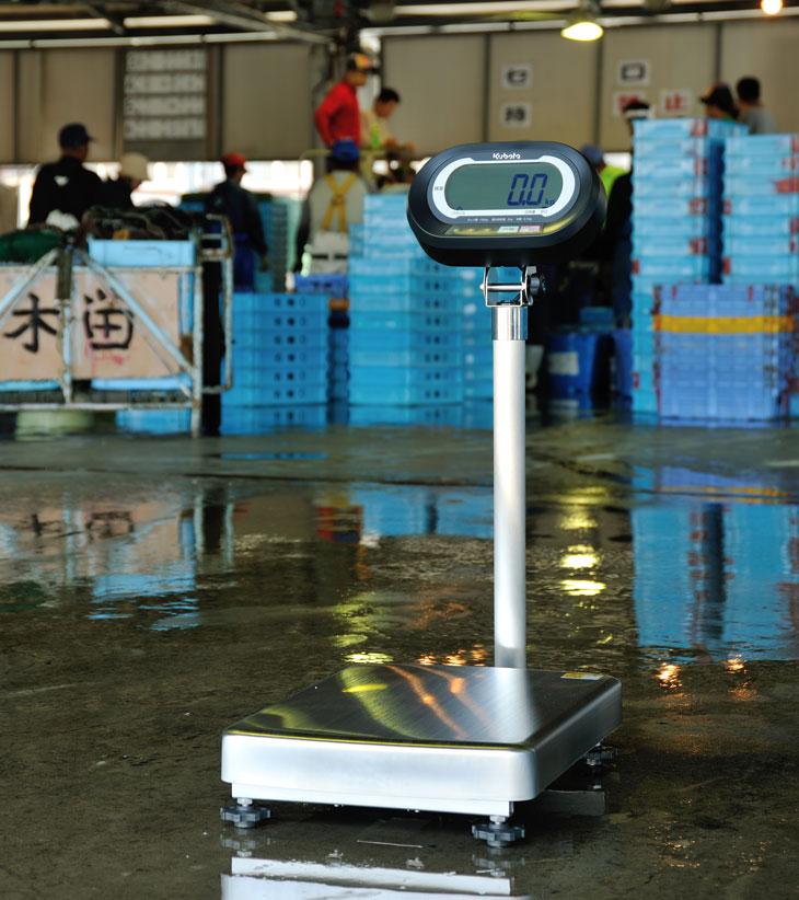 水産向け防水型デジタル台はかり KL-FM-K150A