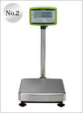 デジタル台はかり(ベーシック型) 150kg KL-BF-K150A