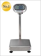 防水型デジタル台はかり 150kg KL-IP-K150A