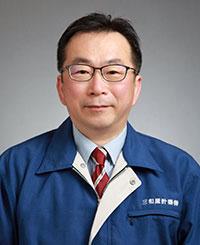 はかりの三和屋の店長の写真