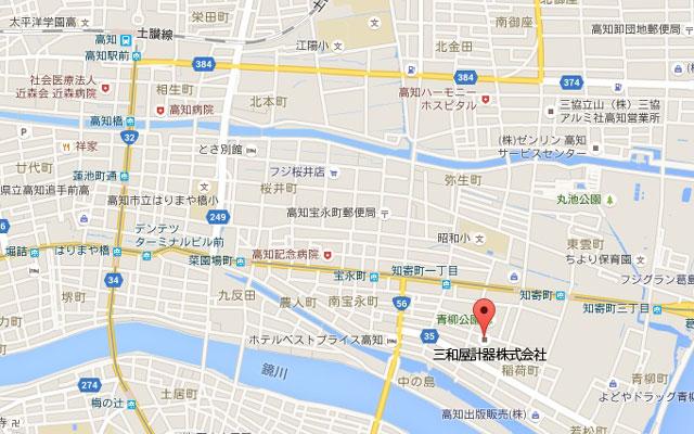 三和屋計器の周辺地図